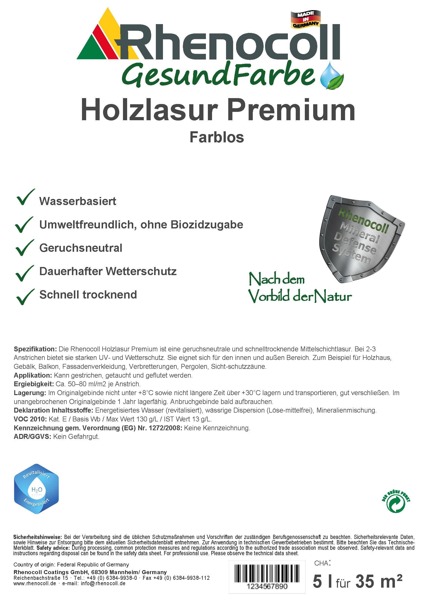 Holzlasur Premium